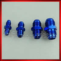 SPECIAL OFFER 20PCS/LOT AN4 to AN4 + AN6 to AN6 + AN8 to AN8 + AN10 to AN10 Aluminium Straight Male Flare AN Fitting Adapter
