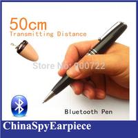 Metal Bluetooth Pen HERO 898 Includ A680 Micro hidden Earpiece For Covert Communication