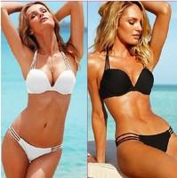 HOT! Women Bikini Set Bandage Swimwear Push-up Padded Bra Top Bottom Beach Suit