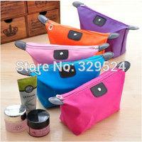 1pcs Women's Waterproof Nylon Cosmetic Bag with Ears (25*18*7cm, 3 Colors)