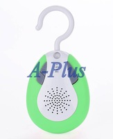 2pcs/lot High Quality Waterproof Shower Radio FM Portable Bluetooth Amplifiers Handfree Music Speakers SV007310
