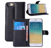 For iPhone 6 4.7 Plus 5.5 inch Stand Wallet Style PU Leather Case Cover With Card Holder stand For iphone6 4.7'' 5.5''