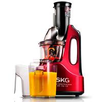 SKG New Large diameter Stainless Steel slow grinding slag separation antioxidant Fruit Juicer DE/UK Plug