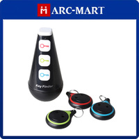 Tumbler Style Remote Control Wireless Key Finder with 3 Smiling Face Receivers#MF039