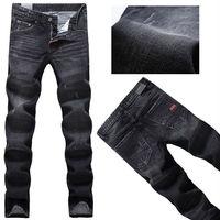 Free Shipping 2014 DSQ  personality paint point men's D2  jean  Korean Slim denim trousers