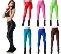 Plus size S-XL free shipping Women Leggings Thick Slim ankle-length Sport Leggings Candy Colors fashion Jogging pants  J-25