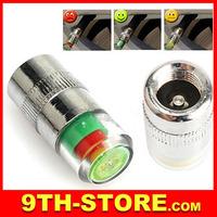 70076 4PCS Car Auto Tire Pressure Monitor Valve Stem Caps Sensor Indicator Alert OH