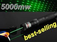 burning laser pointers for sale 5000mw green laser surefire laser pointer 5000mw focus adjustable focus green burning lasernew