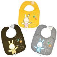 New Baby Toddler Infants kids bibs lunch Rabbit Pattern soft Saliva towel