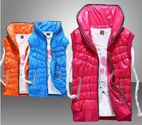 Cotton vest female autumn and winter fashion down cotton waistcoat vest women's casual outerwear slim vest