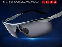 sunglasses polarized 2015 Best Quality Cycling driving mirror Sports Eyewear Sunglasses TR90 Frames Ultra light Anti wind sungla
