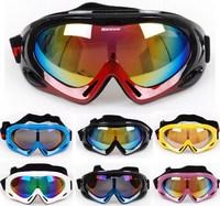 Ski Snowboard Anti-fog Snowmobile ATV MTB Motorcycle Goggles Off-Road Bicycle Racing Eyewear Glasses Black Red Blue White Yellow