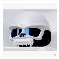 M star MASEI electric motorcycle helmet skeleton troll amphibious half helmet before and after 429