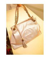 miss puff 2014 new fashion  single-shoulder bag for women chain tassel sexsy big shoulder bag