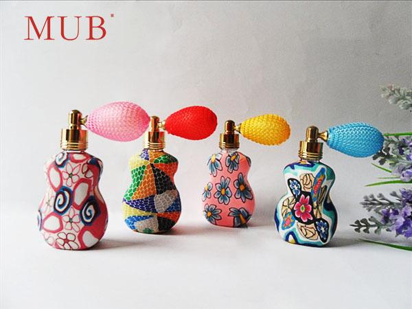 China Unique Perfume Gasbag Airbag Sprayer Atomizer Bottles Atomize Spray Refillable Becutiful Cute Perfume Bottles 10ml(China (Mainland))