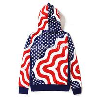 2014  hip hop skate fashion sup men unisex world flags hoodie free shipping