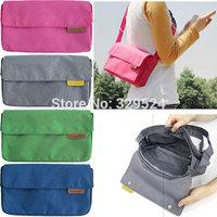 1pcs Women's Travel Nylon Simple Crossbody Bag with Mesh Pocket (26*14*6.5cm, 4 Colors)