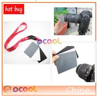 3in1 3 in 1 Digital Grey Card White Black 18% Gray Color White Balance Strap Photo Studio Accessories