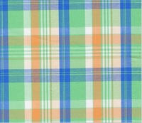 2014 Year New Cotton Yarn-dyed plaid Fabric  145 cm 57'' width 112 gsm shirt skirt fabric sewing fabric small wholesale