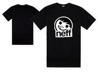 new brand NEFF t shirts fashion hip hop dance t-shirt size S-XXXL 100% cotton skateboard tops mens hip hop streetwear for summer