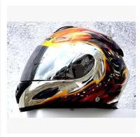 The star light helmet MASEI electric motorcycle helmet werewolves Full face 802