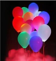 multicolor light changing LED ballon balloon light up balloon for christmas novelty balloon