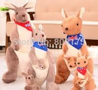 kangaroo mother parent children plush toys  doll doll Halloween Birthday wedding gift           free shipping