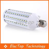 Free shipping LED Corn Bulbs Lamp 5730 SMD 4300LM E27 Indoor Light 132pcs Leds 10pcs/lot Wholesale