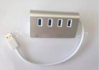 4 Port mini Splitter Adapter USB 3.0 HUB High Speed For PC Laptop Notebook Mac computer peripherals HUBS Free shipping