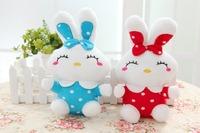 Free shipping mini size rabbit plush toy rabbit soft stuffed doll cute rabbit gift 1pair/lot