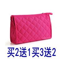 Classic plaid cosmetic bag travel cosmetic bag women's handbag K2