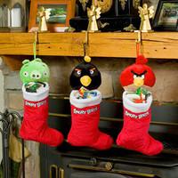 Hot Animal Cartoon Christmas gift bag decoration small christmas socks christmas gifts stocking