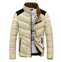 Free shipping Man down jacket More fashion leisure men's coat