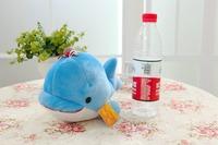 Free shipping mini size dolphin plush toy dolphin soft stuffed doll Christmas gift 10pcs/lot