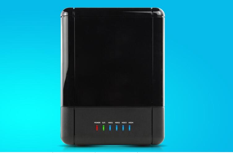 4-Bay Gigabit NAS BOX+USB3.0/ Giga LAN (10/100/1000)+SAMBA/ WebDAV/ FTP/ DHCP/UPnP AV Media server/ Bit Torrent (client)(China (Mainland))