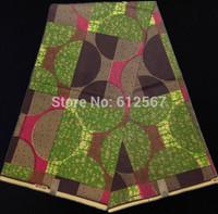 (6yards/lot) YW206! Free shipping100% cotton wax fabric ! African hollandais wax fabric! High quality African batik fabric !