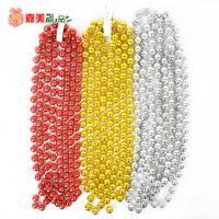 10mm * 200cm shiny bead chain Christmas decoration Christmas tree hanging ornaments free shipping
