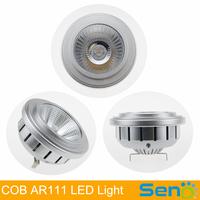 New arrival! Japan Citizen COB AR111 LED Spot Light High CRI 80 24Degree 12V/AC85-265V AR111 LED lamp 3 years warranty