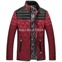 Delicate Design Man Thick Warm Coats Plus Size M-3XL Good Quality Patchwork Men Winter Fashion Style Down Jackets Outwear