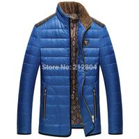 Wholesale!2014 Fashion Brand Clothes Men Jacket England Style Mens Coat Down Jackets Men Windbreaker Sportswear Winter Clothing