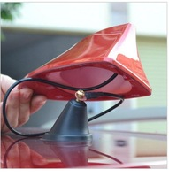 Roewe 550 Newest design special with blank 3M adhesive radio shark fin antenna signal shark fin Free shipping