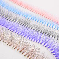 Eyemix Colorful Individual Eyelash Extension 100% Handmade 5 Colors False Eyelashes from South Korea Freeshipping