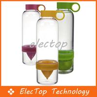 Free shipping Hot Sale Lemon Cup Fruit Water Bottles Citrus Juicer 60pcs/lot Wholesale
