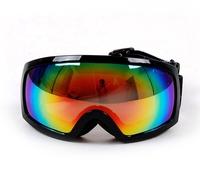 Winter Sport Polarized Ski Snowboard Snowmobile Anti-fog Dua Doublel Lens Motorcycle Black Colored Frame Snow Goggles Eyewear