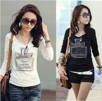 2014 new fashion t shirt women clothing exo camisetas de marca ladies tops tee woman clothes blouses t-shirt Cologne Korean rock