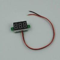 Freeshipping 2.5V to 30V Red Digital Voltmeter Meter Power Monitor