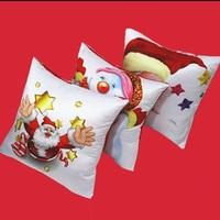 Lovely Digital Print Christmas Santa Cushion Cover Home Throw Pillow Case Velvet Pillowslip Art Pillowcase 44*44cm FK673310