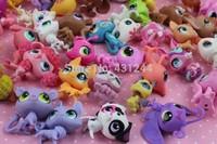 Free shipping Lot 20 pcs Littlest Pet Shop LPS Animasl Loose Figures Collection toy(20pcs/set)