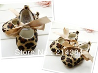 Fashion Leopard zapatos de bebe, Comfortable Shoes for primeros caminantes infantil girls,6 pairs/lot.seek for wholesale!!-b0001