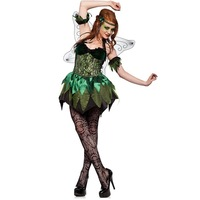 Brazil Elf Costumes Sexy Cospaly Costumes Fairy Dress Women Frozen Dress Cosplay For Carnival Christmas